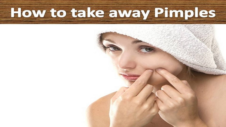 How to take away Pimples