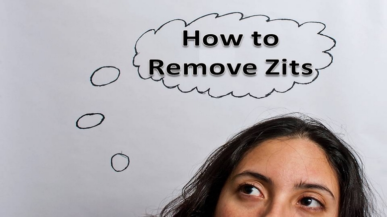 How to Remove Zits